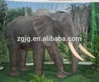 life size elephant, vivid animal sculpture, zoo & amusement park perfect decoration