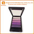 5 cores de sombra glitter pigmento de pó pressionado