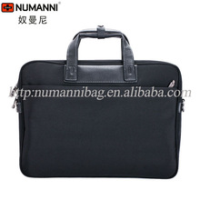 2014 new style waterproof durable nylon laptop briefcase for business man