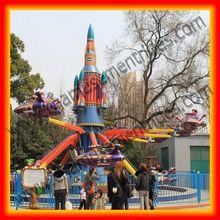 Spring park children rides! theme park rides self control plane