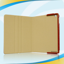 China wholesale manufacturer leather flip case for ipad 2 3 4