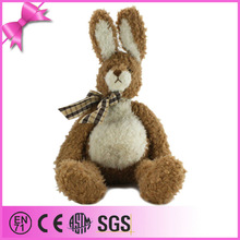 promotion gift custom design long ear plush rabbit toy