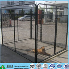 PVC coated outdoor temporary dog fence kennels