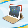 High Quality Design luxury leather wallet stand case cover with stand for ipad 4 3 2