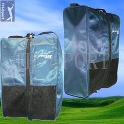 New zipper closure design golf shoe bag