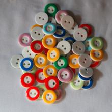 Spot wholesale resin buttons high-grade shirt button children diy accessories buttons | four eyes