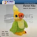 Pappagallo giocattolo parlante per ragazzo costume di danza e il canto della peluche giocattolo con musica/ODM animali di peluche per il regalo di promozione