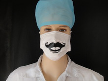 cartoon printed medical mask