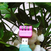 USB Luggage Travel cute and Mini Password Code lock combination lock password lock
