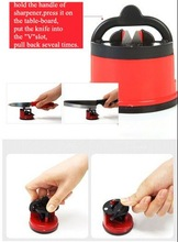 2014 Mini kitchen knife sharpener with suction pad kitchen cutting tools