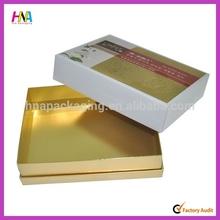 2014 kraft carton box paper necktie box parfum box