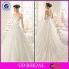 EDW601 China Factory Supply Lace Sweetheart Neckline Taobao Wedding Dress