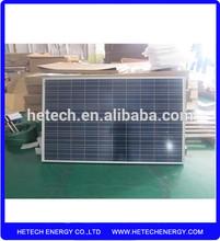 High efficiency Polycrystalline 255 watt pv solar panel price per watt