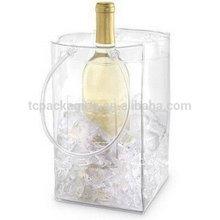 Best design original pvc plaid plastic bag handle