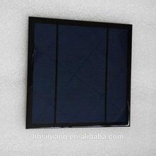 poly 2w 12v frameless solar panel