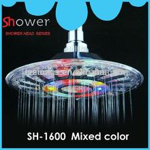 Leelongs Multi-Color 8 inch LED Lighted Shower Head