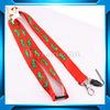 Wholesale custom cheap mobile phone silk screen printing lanyard