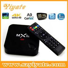Original MXIII Android 4.4 Amlogic S802 Quad-Core TV BOX 2GB/8GB Google MX3 android 4.4 tv box Support OTA 2.4/5GHz Dual Wifi