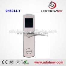 2014 hotel cylindrical door lock,the most affordable hotel door lock (DH-8014Y)