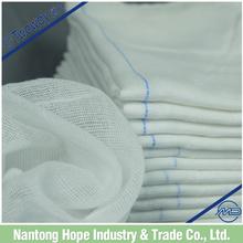 Medical Dressing Gauze Lap Sponge White Color