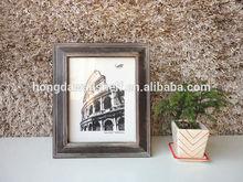Distressed Black Wooden Desktop Picture Photo Frame For Home Decor