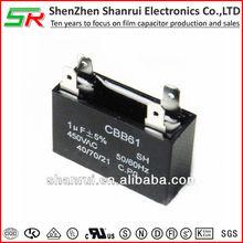 cbb61 sh polypropylene film non polar capacitor