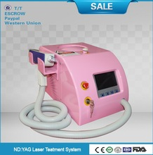 portable mini q switche laser/Tattoo Removal Beauty Equipment/factory portable nd yag laser