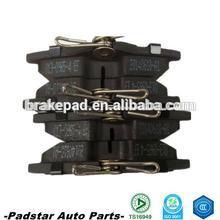 Car spare parts toyota auris parts toyota probox/vio break pads from shizun