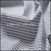 Yarn-dyed 100% Cotton Woven White Blue Stripe Fabric