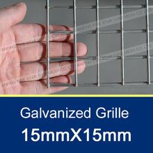 15mmX15mm Galvanized Grille/Galvanized Grille Mesh/Stainless Steel Grille