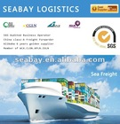 Best competitive sea cargo freight rates service