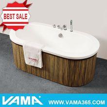 China Supplier Acrylic Bathtub Indoor