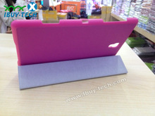 free sample cheap wholesale price tablet leather flip case cover for galaxy tab s T700 8.4