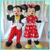 CE Customized Popular design mascot costume, mickey and minnie mascot costume