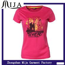 2014 new design t shirt manufacturer moisture wicking brand fashion t-shirt