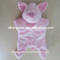 Jumbo 18'' unstuffed animais de pelúcia porco pet brinquedos para cão brinquedos