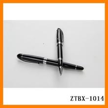 2014 office high-end business promotional gift metal sign gel ink pen wholesale ZTBX-1014
