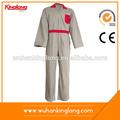 kinglong bata de algodón gris rojo uniforme de electricista