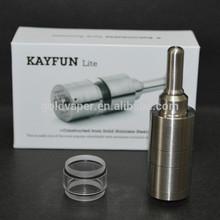 2014 Wholesale factory price Newest design kayfun lite plus rba atomizer
