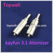 2014 Topwell hcigar kayfun 3.1/kayfun lite 3.1 pro taifun gt clone fogger tank wholesale