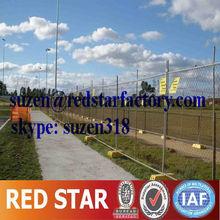 temporary perimeter fencing / activity crowd control pedestrian barrier
