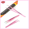 Pink Eyebrow Tweezer.Professional Eyebrow Tweezer