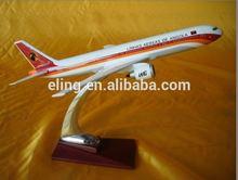 diecast Resin plane model Boeing B757 or Resin dhl plane model