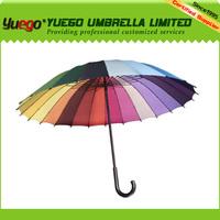 rainbow loom bands 16 ribs umbrella, pagoda umbrella