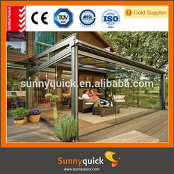 Guangzhou China aluminum garden wooden houses