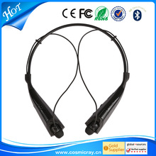 silicone earphone rubber cover with external call and music control function,neckband style