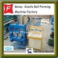 Automático tope del caballete máquina formadora de rollos de piezas de la máquina XF240