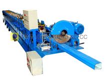 High quality corrosion resist down pipeleader ut making machine /forming machine