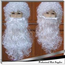 YILU synthetic Santa beard wig