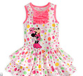 2014 bonita mouse tutu vestido de bolinhas vestido personagem de banda desenhada fancy vestido para a menina